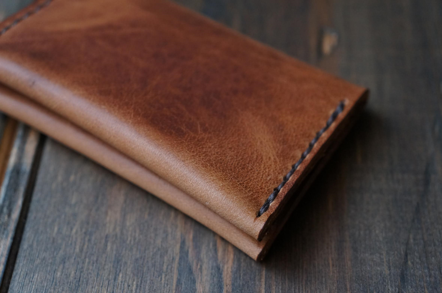 Image of Junction Card Wallet - Horween