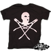 Image of Skull and bolt cutters (super limited run of individual pirate style prints)