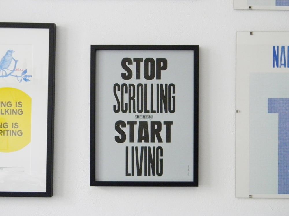 Image of Stop scrolling