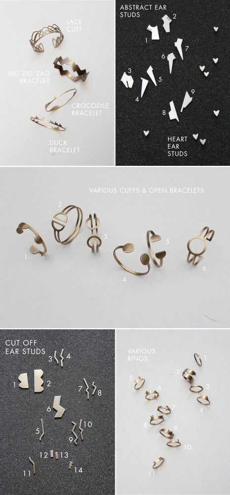 Image of Sample Sale - Rings, Bracelets, Ear Rings