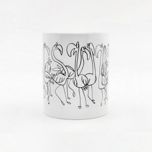 Image of U-Mug: Flamingos