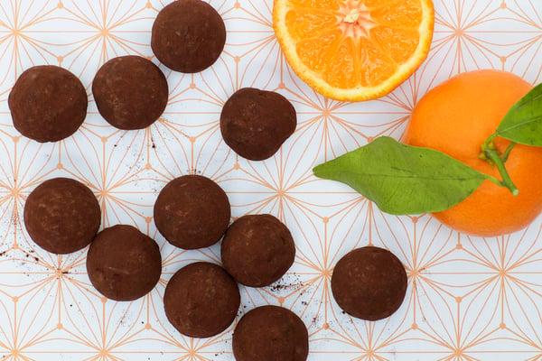 Image of Mandarin truffles