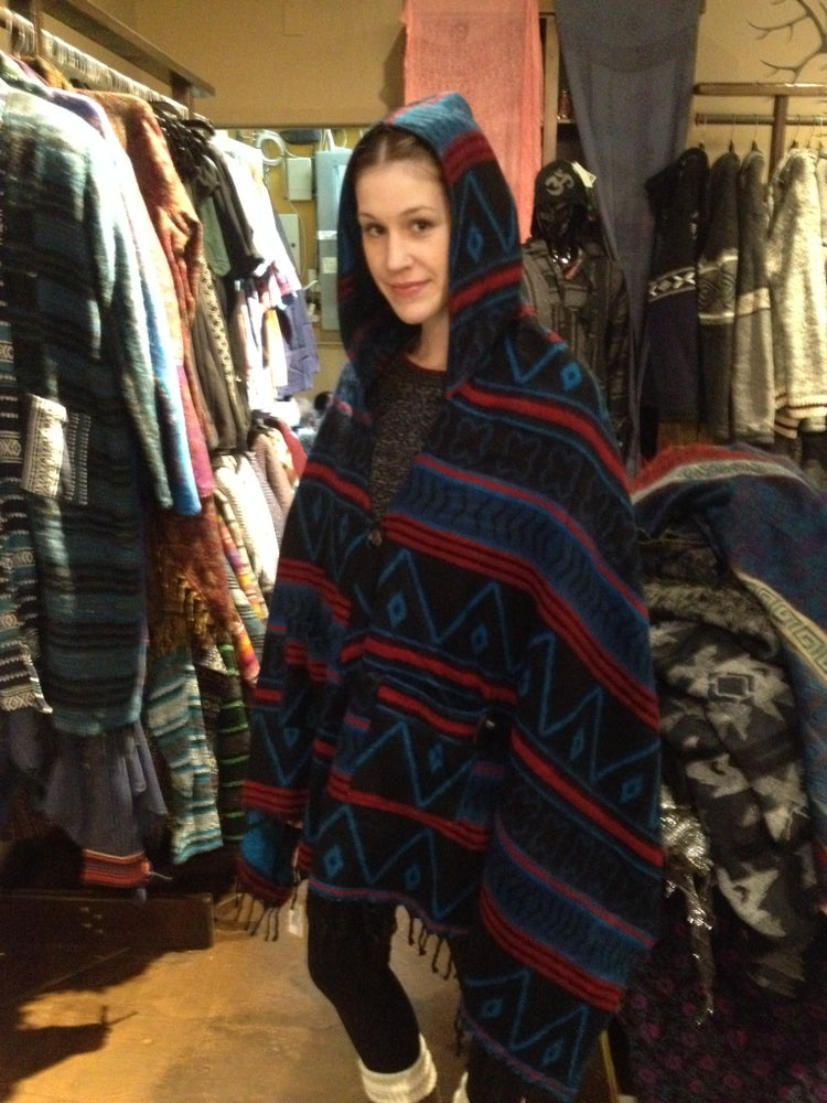 Image of Poncho Scarf S