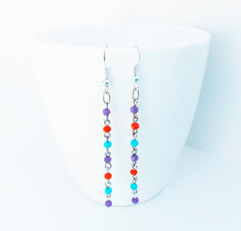 Image of Crystal Station Earrings