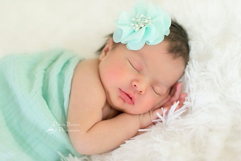 Image of Newborn Angel Portrait Session