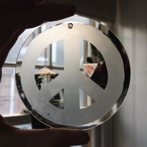 Image of Peace Suncatcher Ornament - 100% of proceeds to the ACLU