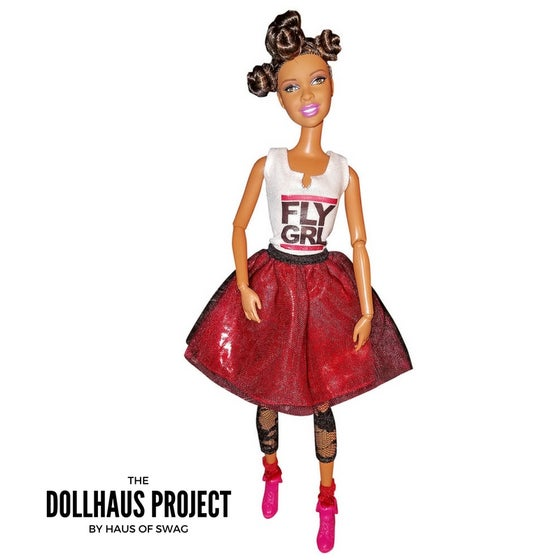 Image of FLY GRL | Bantu Knot Fashion Collector Doll