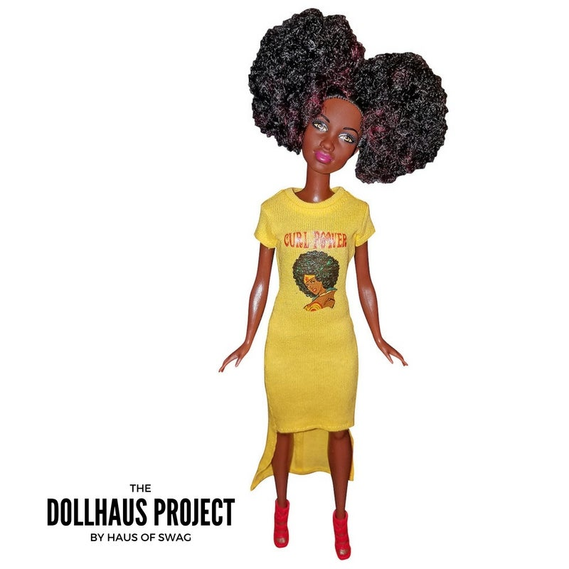 Image of Curl Power Afro Puffs | Fashion Collector Doll