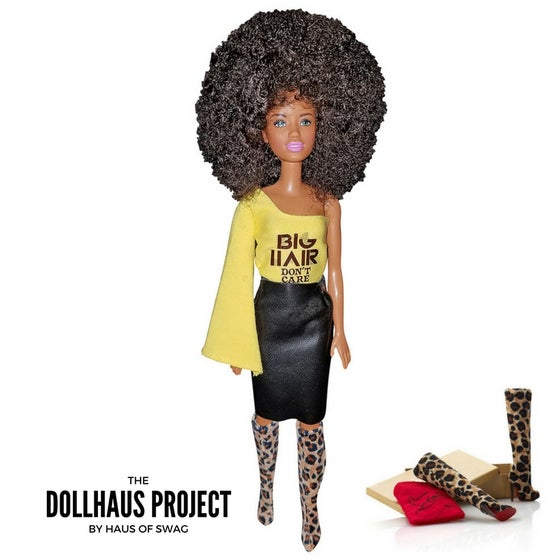 Image of Big Hair Don't Care | Collector Fashion Doll