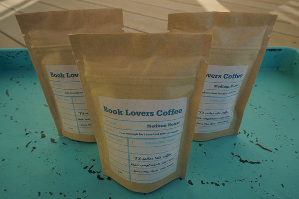 Image of 2 oz Book Lovers Coffee 3 for $10
