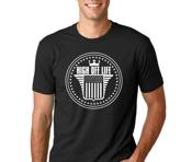 Image of Black High Off Life Classic Logo T-Shirt