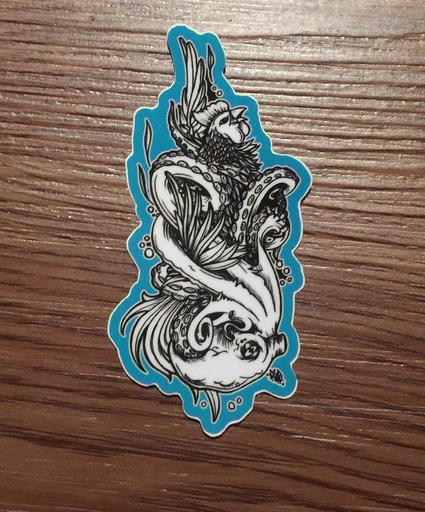 Image of cocksucker sticker