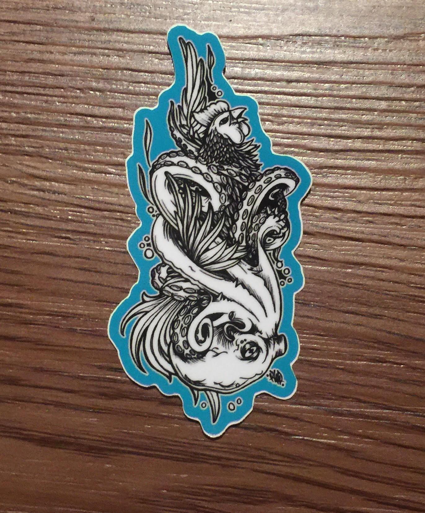 cocksucker sticker