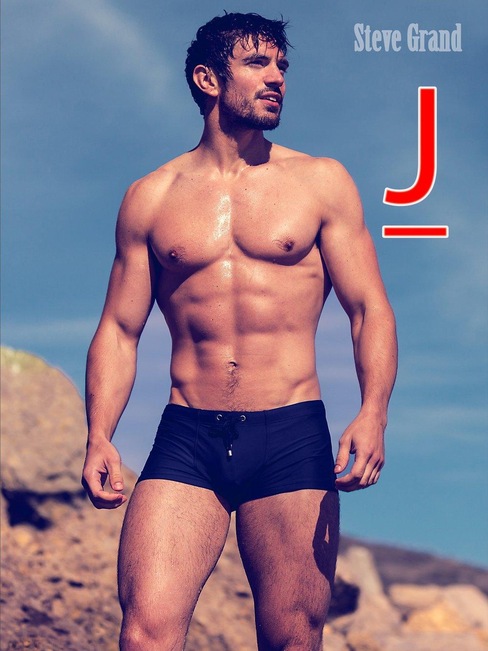 Steve on Malibu Beach Posters