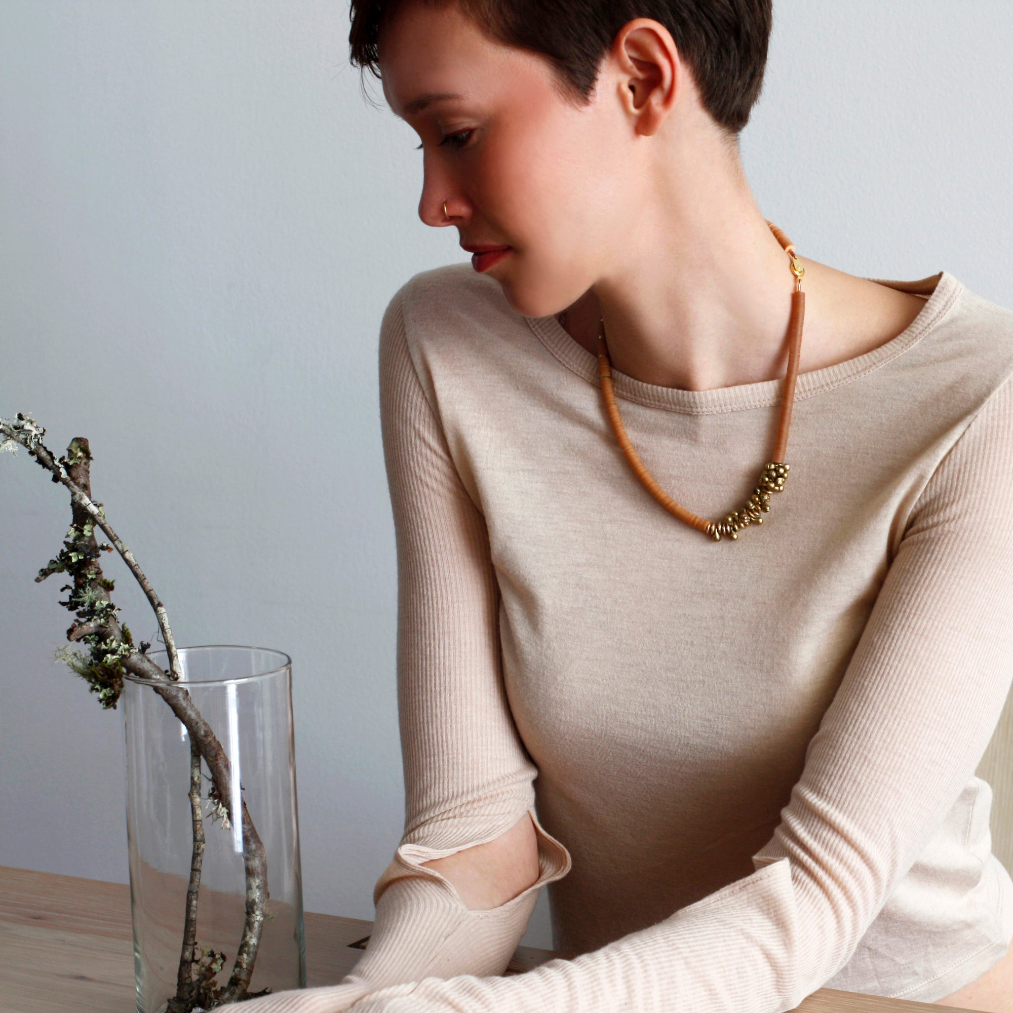 Image of Coffee Berry Necklace
