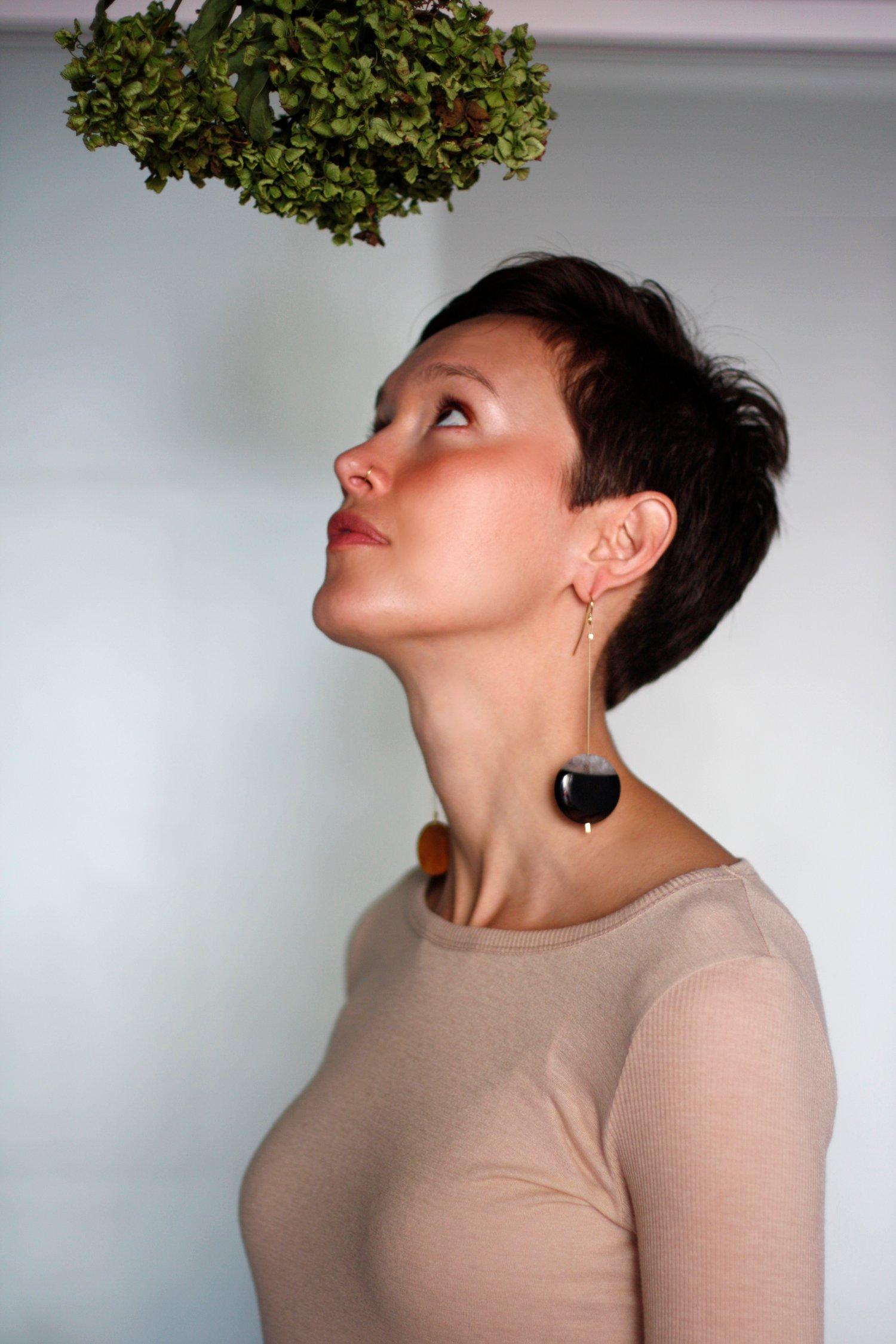 Image of Bing & Bang Earrings (SOLD)