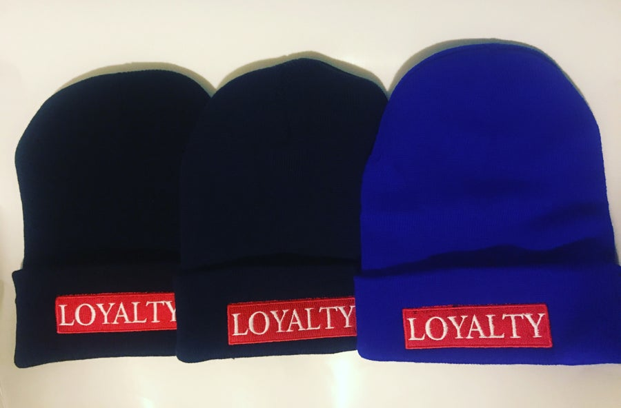 Image of Loyalty bar beanie