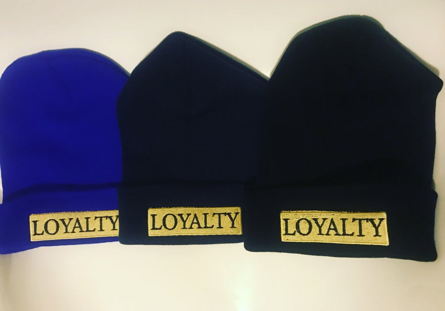 Image of Loyalty Bar Beanies #Gold