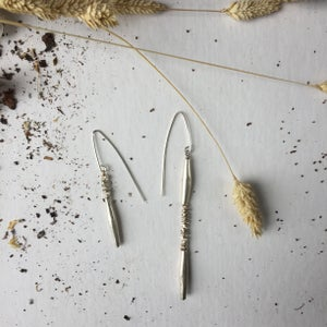 Image of Little White Sage earrings