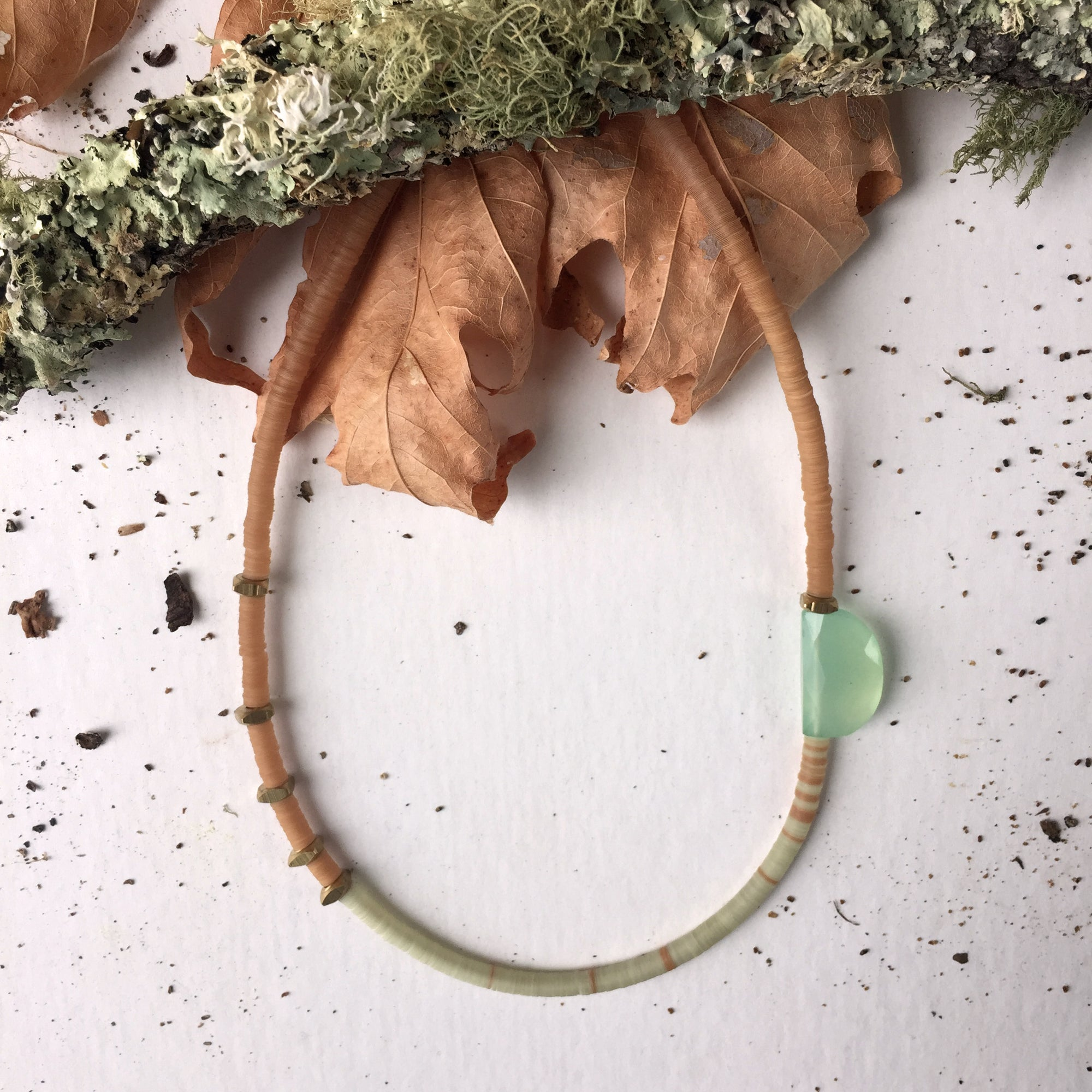 Image of Green Pastel Necklace