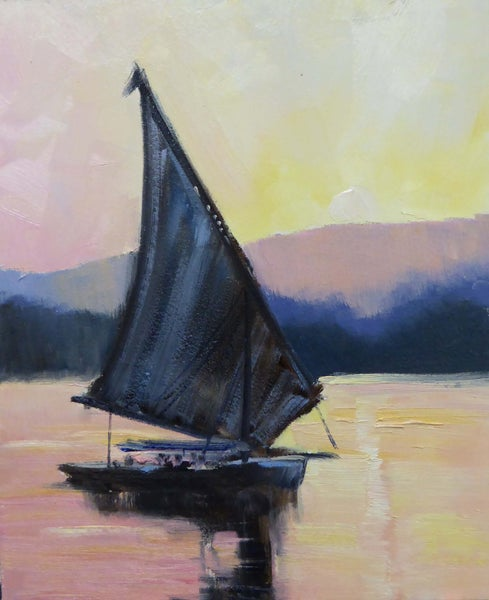Image of Felucca On The Nile
