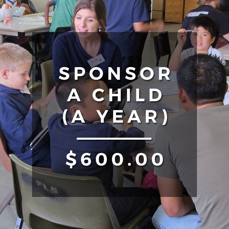 Image of Sponsor a child to access our services for a whole year