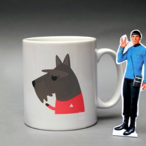 Image of 'Beam me up Scottie' Mug
