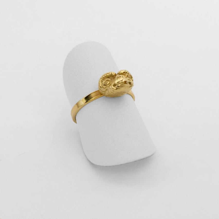 Image of Gold Ring  / Anillo EXTRATERRESTRE Oro XS