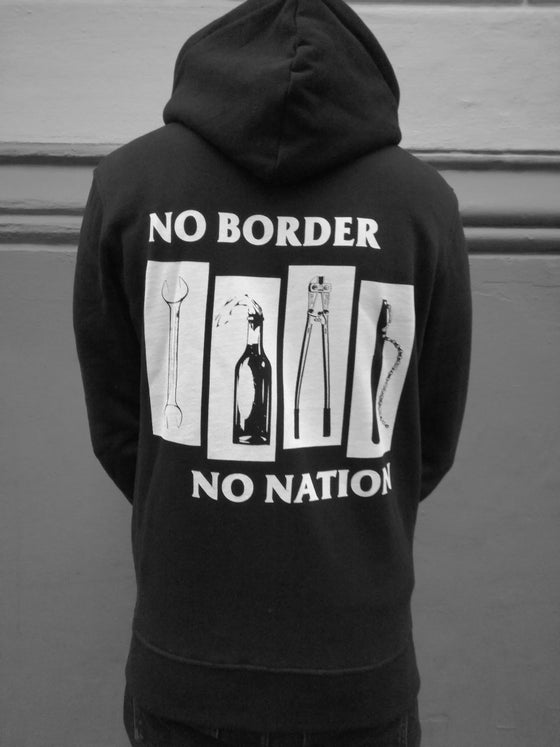 Image of No Border No Nation Zipper