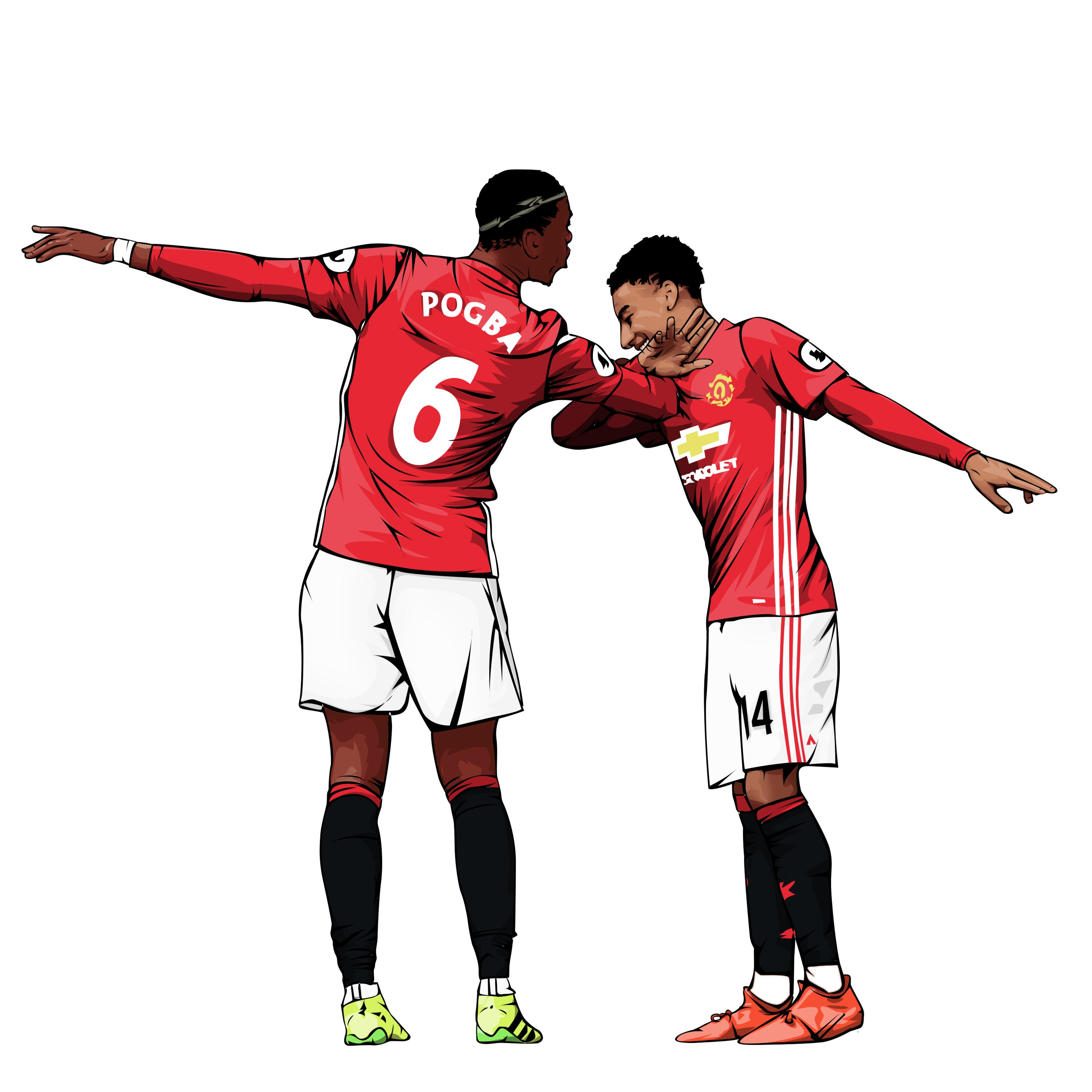Pogba & Lingard Dab Celebration / The Soccer Suite