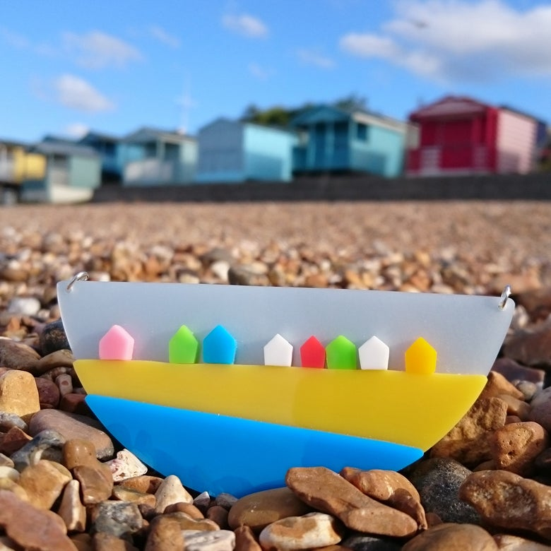 Image of Beach Hut Necklace