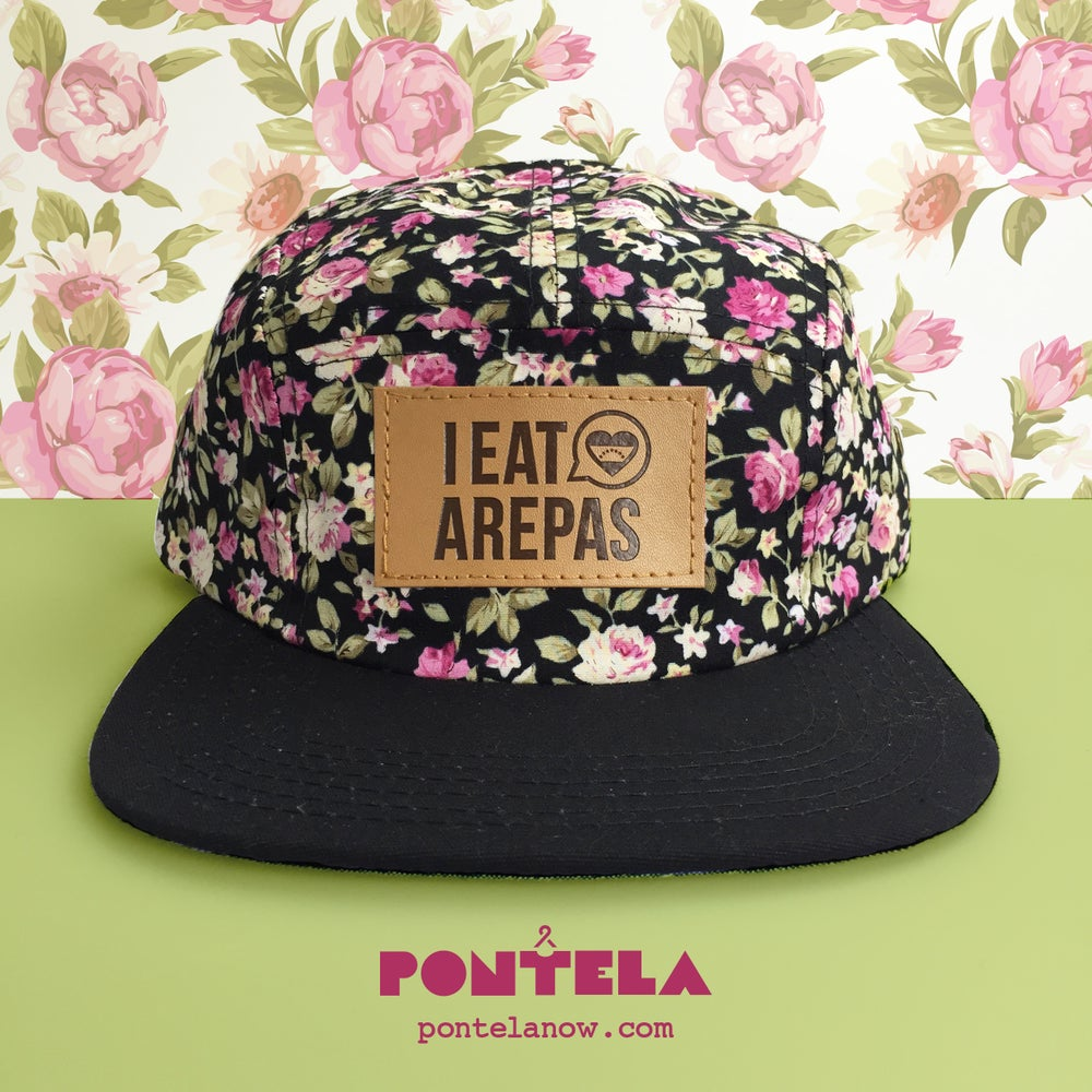 Image of I Eat Arepas Leather Roses
