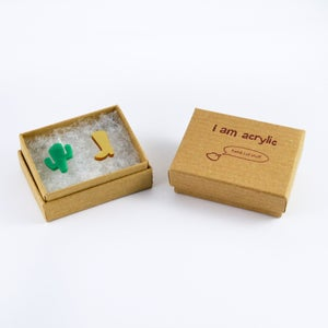 Image of Cactus and Cowgirl Boot Earrings