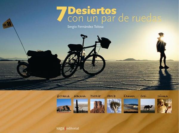 Image of 7 desiertos con un par de ruedas - TAPA DURA A PRECIO DE EDICIÓN RÚSTICA