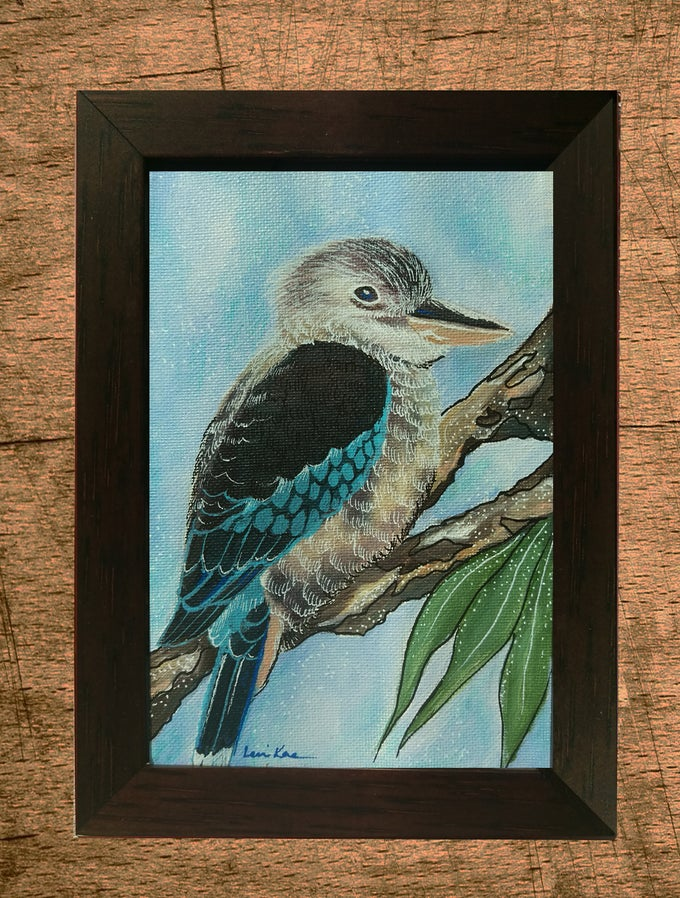 Image of Original Painting: Kookaburra (Mini Art)