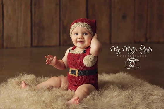 Image of Tiny Santa Sitter Set