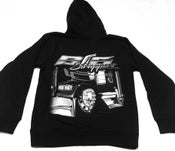 """Image of """"HOODIE"""" Big Strappers Black & White"""