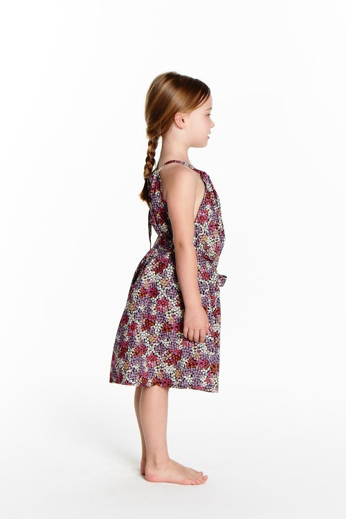 Image of Vintage Tie Dress - Wildflower