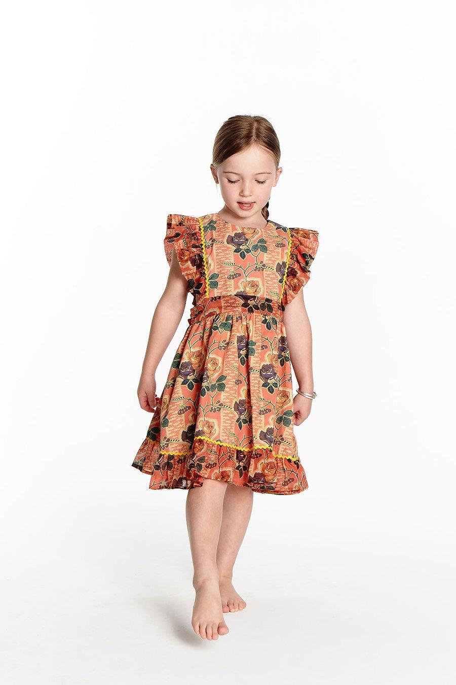 Image of Sunday Pinafore Dress - Wild Rose