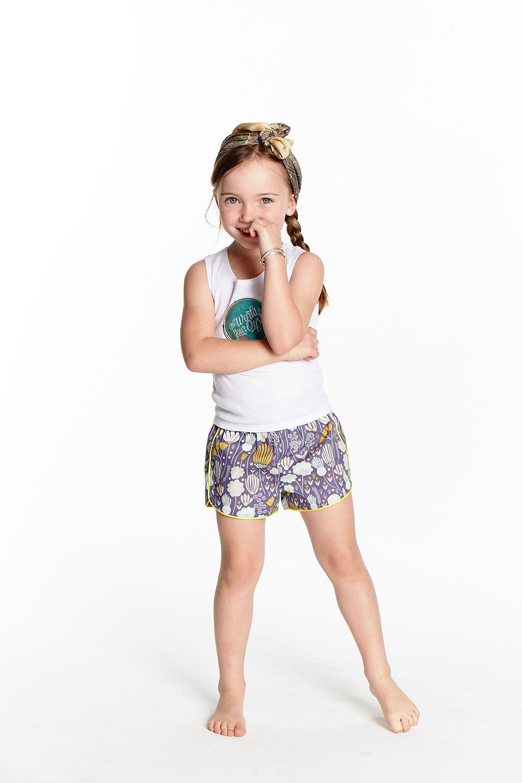 Image of Little Traveller Shorts - Bloom