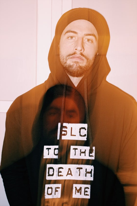 Image of SLC TO THE DEATH OF ME hoodie