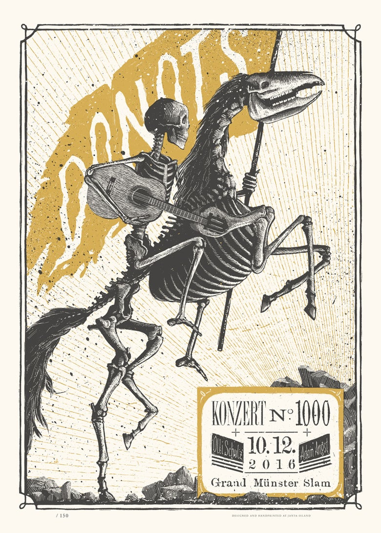 Image of »DONOTS« Gig-Poster #2