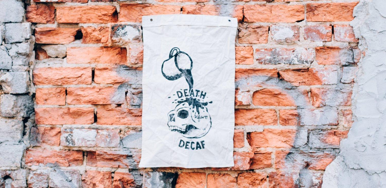 Image of Death Before Decaf Flag