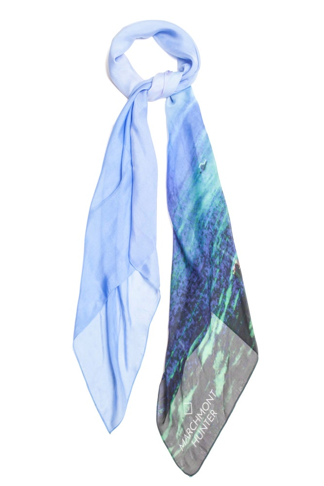 Image of Nusa Dreams Silk Chiffon Scarf
