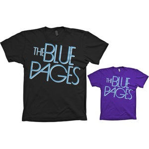 Image of Blue Pages Logo T-Shirt