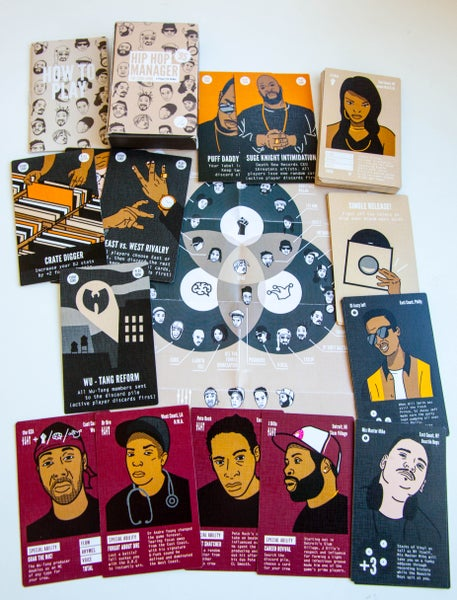 Image of HipHop Manager '95 The Card Game