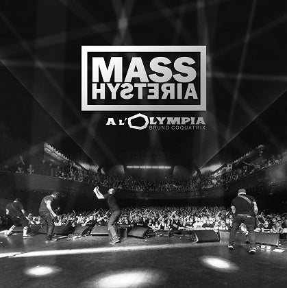 Image of MASS HYSTERIA - À l'Olympia - CD Cristal