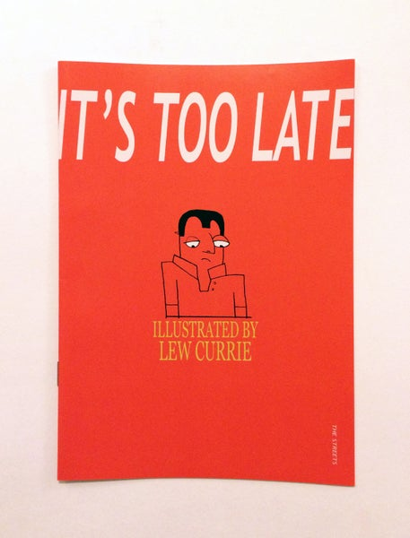 Image of It's Too Late - Mini Fanzine