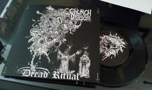 "Image of Dread Ritual 7"" vinyl"