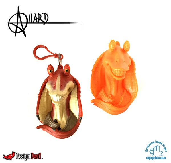 Image of Jar Jar Treasure Keeper Pre-Production Samples
